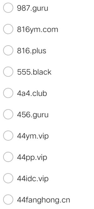 可运行的二级域名分发源码 免费源码 第1张