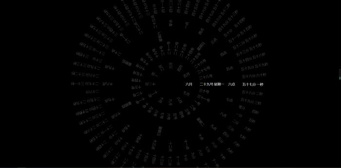 U4f4936e6a98c4f219d447ec6c0bae071X.jpg 360°动态罗盘时钟显示html源码  免费源码 第1张
